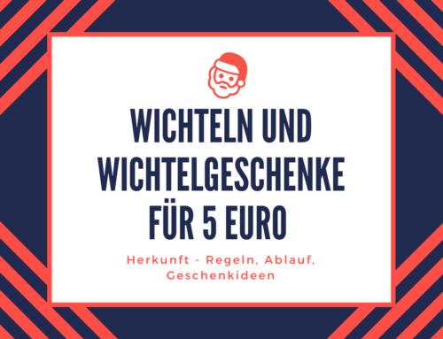 Wichtelgeschenk 5 Euro