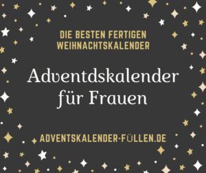 Adventdskalender für Frauen