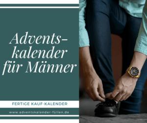 Adventskalender für Männer