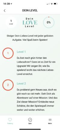Amorelie Adventskalender App Love Level 1-2