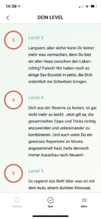 Amorelie Adventskalender App Love Level 3-5