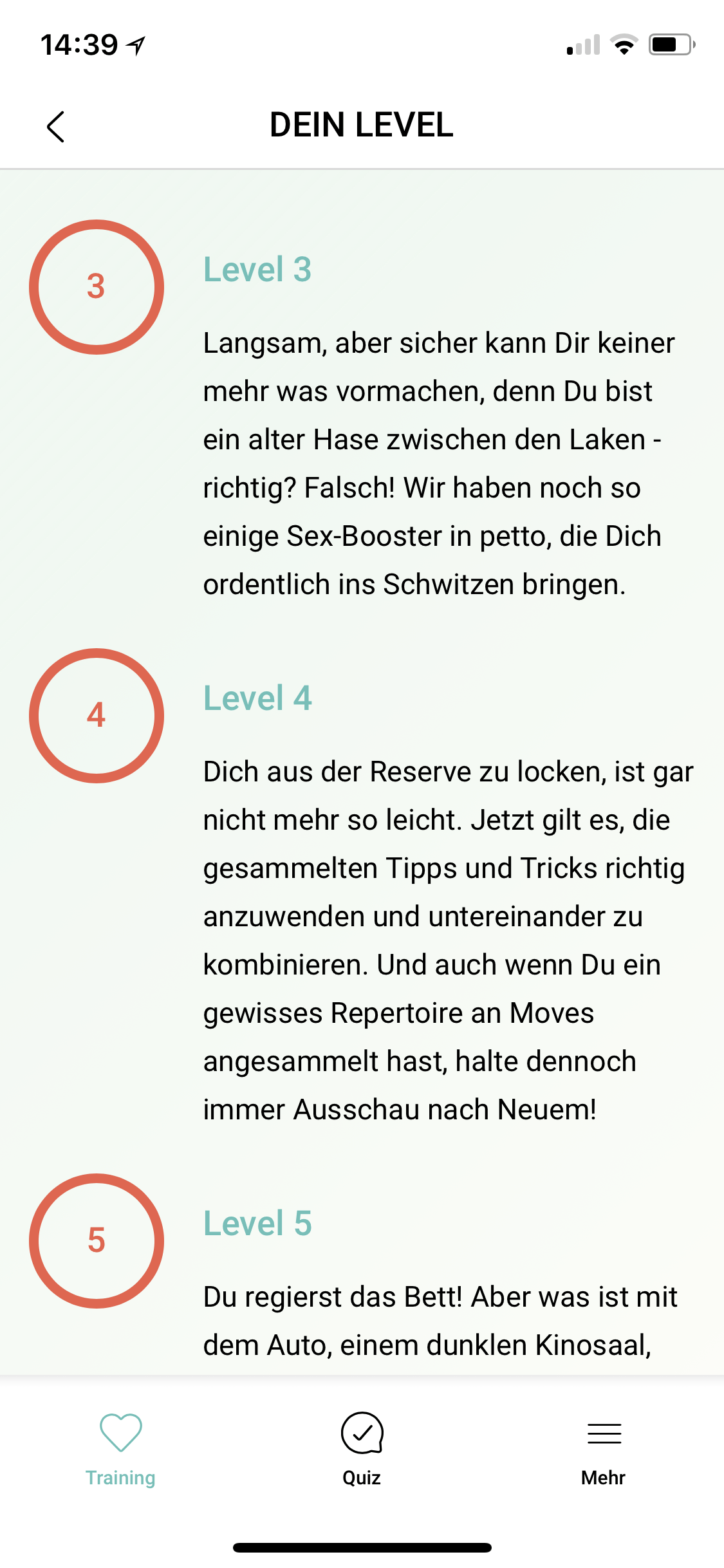 Amorelie Adventskalender App Love Level 3-5