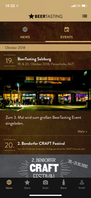 Bier Adventskalender Beer Tasting App Events