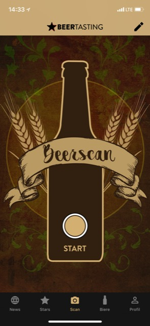 Bier Adventskalender Beer Tasting App Scan