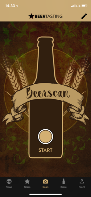 Bier Adventskalender Beer Tasting App Scan