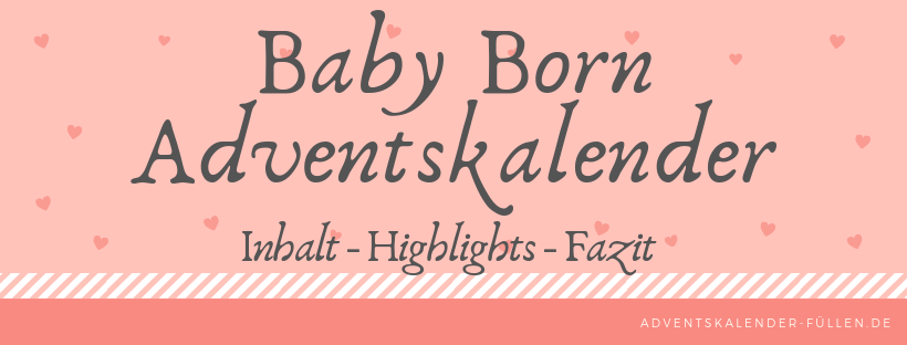Baby Born Adventskalender