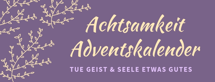 Achtsamkeit Adventskalender