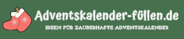 Adventskalender füllen Logo