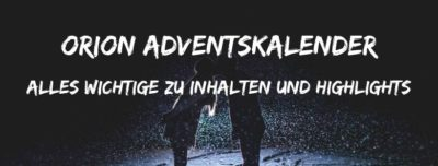 Orion Adventskalender