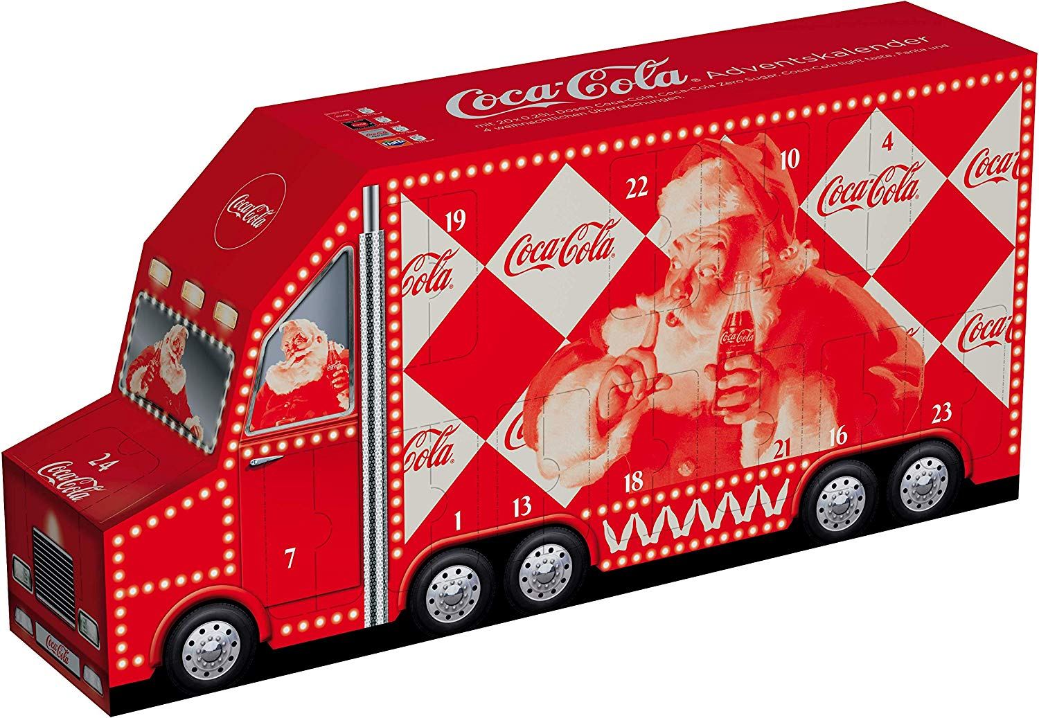 Coca cola Adventskalender für Teenager