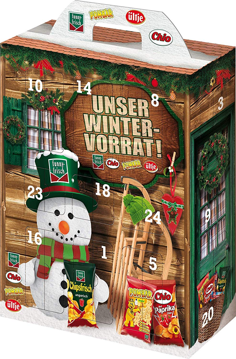 Intersnack Adventskalender